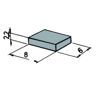 42256 - 6 Stück Packung Magnete
