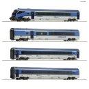 74064 - 4er Set Railjet CD DC