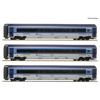 74068 - 3er Set Railjet CD DCC