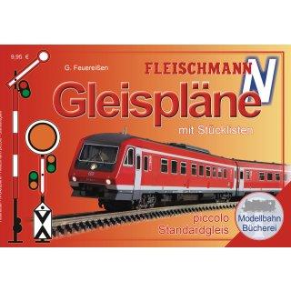81399 - Gleisplanhandbuch für FLEISCHMANN N (Schotterbettgleise)