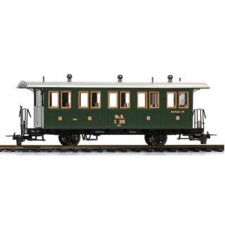 Bemo 3234 125 RhB C215 Personenwagen 3.Kl. 2-achs Ep.1