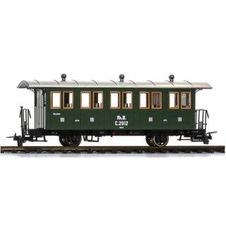 Bemo 3234 142 RhB C2012 historische Dampfzugwagen  2-achs Ep.1