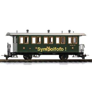 Bemo 3234 127 RhB C207 Personenwagen 3.Kl. 2-achs Ep.1